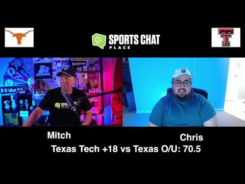 Texas at Texas Tech - Saturday 9/26/20 - College Football Picks & Prediction | Sports Chat Place