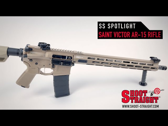 Springfield Armory SAINT VICTOR FDE AR-15 Rifle - Shoot Straight Spotlight