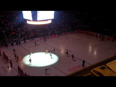 Gopher Hockey Game Intro 11/17/2012