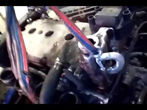 Ваз 2112 снятие двигателя без снятия коробки передач