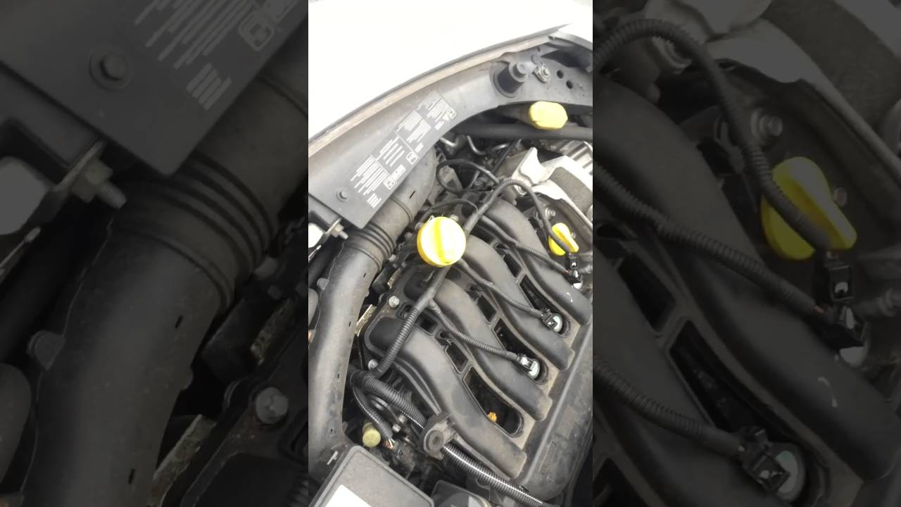 Change spark plugs on Renault Clio 20062009  YouTube