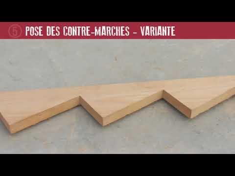 Les bons gestes en maçonnerie : escalier droit en béton