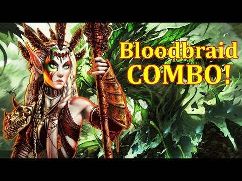 Modern Bloodbraid Elf COMBO deck! - NEW!!!