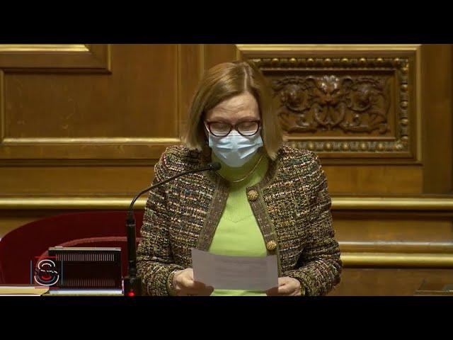 Colette MÉLOT : Évaluation des politiques publiques vu la gestion de la crise sanitaire 2/2