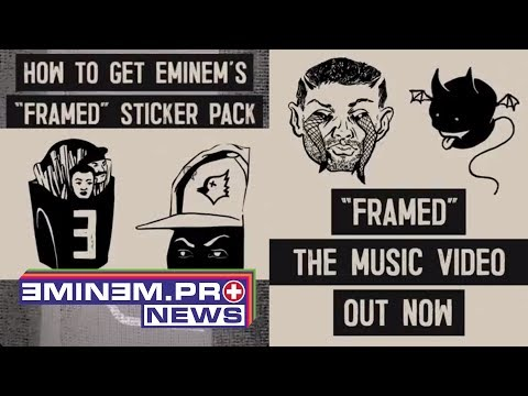 "ePro News 61: Eminem launched special ""Framed Sticker Pack"" for your instagram stories"