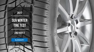 2017 SUV Winter Tire Test Results | 235/55 R17