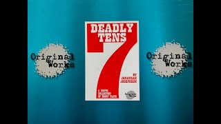 """Seven Deadly Tens (A Sinful Collection of Short Plays)"" by Jonathan Josephson - Original Works"