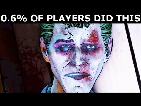 0.6% Of Players Refused To Answer Joker's Final Question - BATMAN The Enemy Within Episode 5