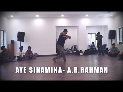 Ravi Varma Choreography | OK Kanmani - Aye Sinamika @ARRahman @Maniratnam