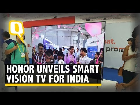 IMC 2019: Honor Smart Vision TV Unveiled to Compete With Xiaomi | The Quint