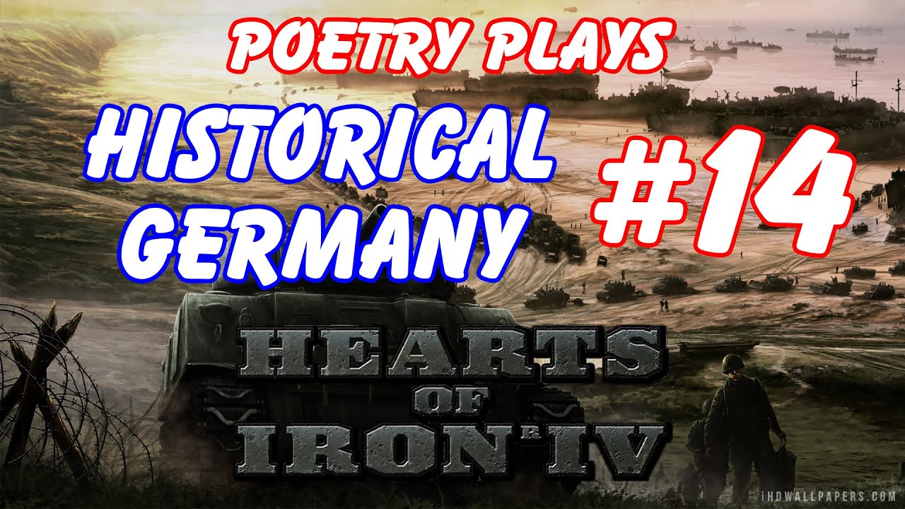 Hearts of Iron 4 - Germany Ironman Campaign - Episode 14 ...