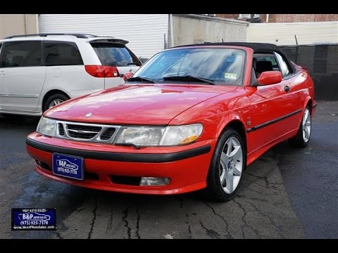2002 Saab 9 3 2dr Se Turbo Convertible