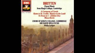 kings college choir rejoice in the lamb britten part 1