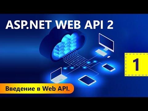 Введение в Web API. ASP.NET WEB API 2. Урок 1