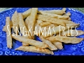 Healthy Singkamas (Jicama) Fries | Food Bae