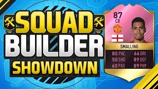 FIFA 17 SQUAD BUILDER SHOWDOWN FUTTIES CHRIS SMALLING The Sweatiest Centre Back On Fifa
