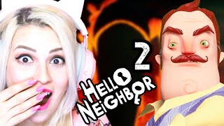 HELLO NEIGHBOR 2 ALPHA YENİ OYUN !! (Hello Guest)