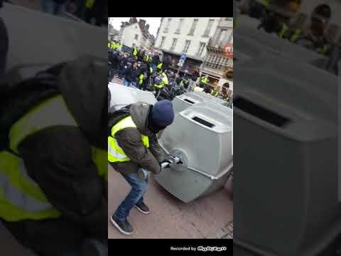 Acte 8 les Gilet jaune à Rouen