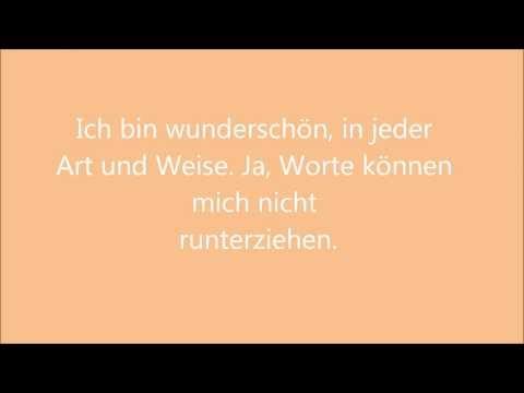 Beautiful- deutsche Übersetzung