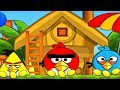 Angry Birds Come Back To Nest Skill Game Walkthrough All Levels 1-54
