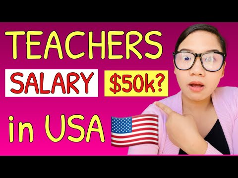 Salary of Teachers in the USA   EXPENSES and COST OF LIVING of Teachers in the USA