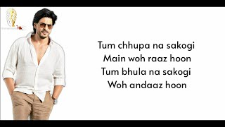 Main Yahaan Hoon Full Song (Lyrics) • Udit Narayan • Shah Rukh Khan , Priety Zinta • Veer-Zaara