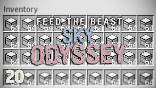 FTB Sky Odyssey Ep. 20 Are Game Over Crates OP?