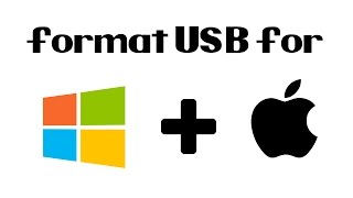 How To Format an External/USB Hard Drive for Mac and Windows in Under 2 minutes