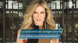"""La conductora dio positivo al virus antes del estreno de """"Masterchef Celebrity"""", junto a otros compañeros como Paty Navidad y Joserra Castillo"""
