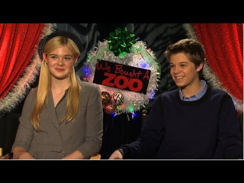 Elle Fanning and Colin Ford Talk Awkward Flirtation and Matt Damon's Big Fear