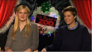 Elle Fanning and Colin Ford Talk Awkward Flirtation and Matt Damon's Big Fear