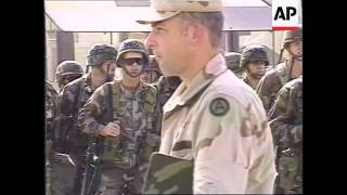 Kuwait - US troops arrive