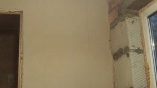 Гипсовая штукатурка Волма слой(Мой сайт: http://rem-kwart.com/ Полный цикл штукатурки Волма слой с затиркой под обои., 2014-05-28T19:15:13.000Z)