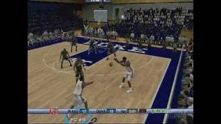 College Hoops 2K6 Xbox 360 Gameplay - Wake Up
