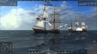 Naval Action Open World - Episode 10 - Bothering a Surprise and Being a Coward
