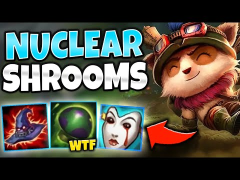 *SHROOMS OF DEATH* FULL AP TEEMO MID DOES WAY TOO MUCH DAMAGE - League of Legends