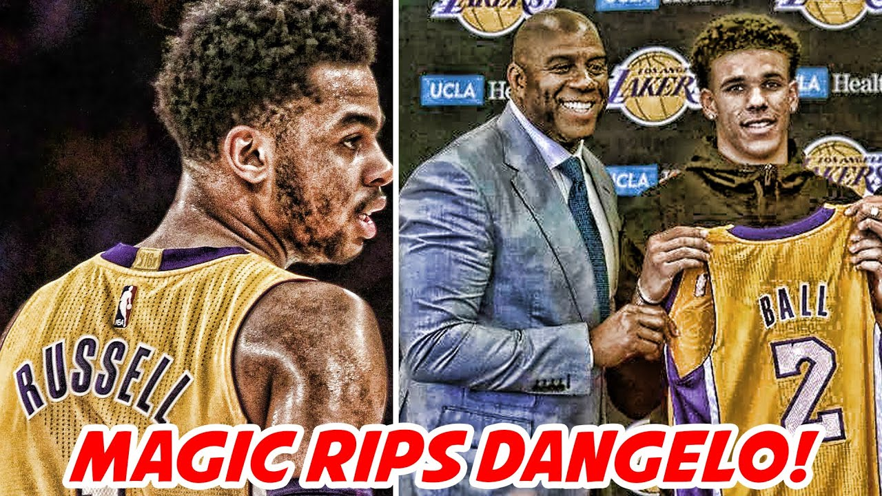 magic-johnson-says-no-one-wants-to-play-with-d-angelo-russell-bulls-fan-start-gofundme-nba-news