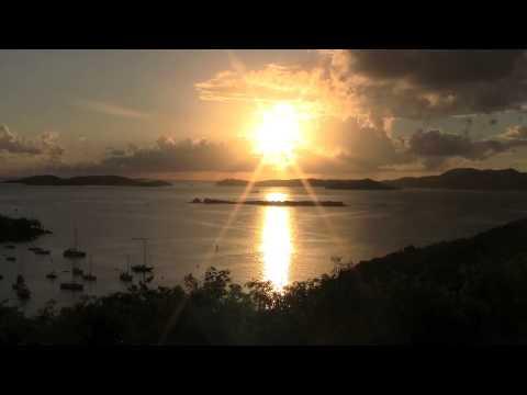 Sunset on St. John, US VIrgin Islands