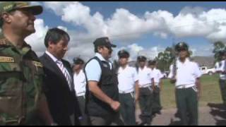 Visita del ministro del Interior a la ciudad de Huamanga-Gobierno Regional de Ayacucho