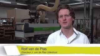 J, van de Plas deelnemer Bedrijvenronde Hart van Brabant 2015.