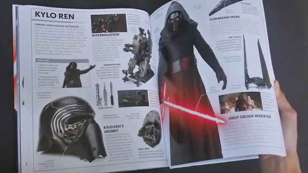 Star Wars The Force Awakens Visual Dictionary Youtube
