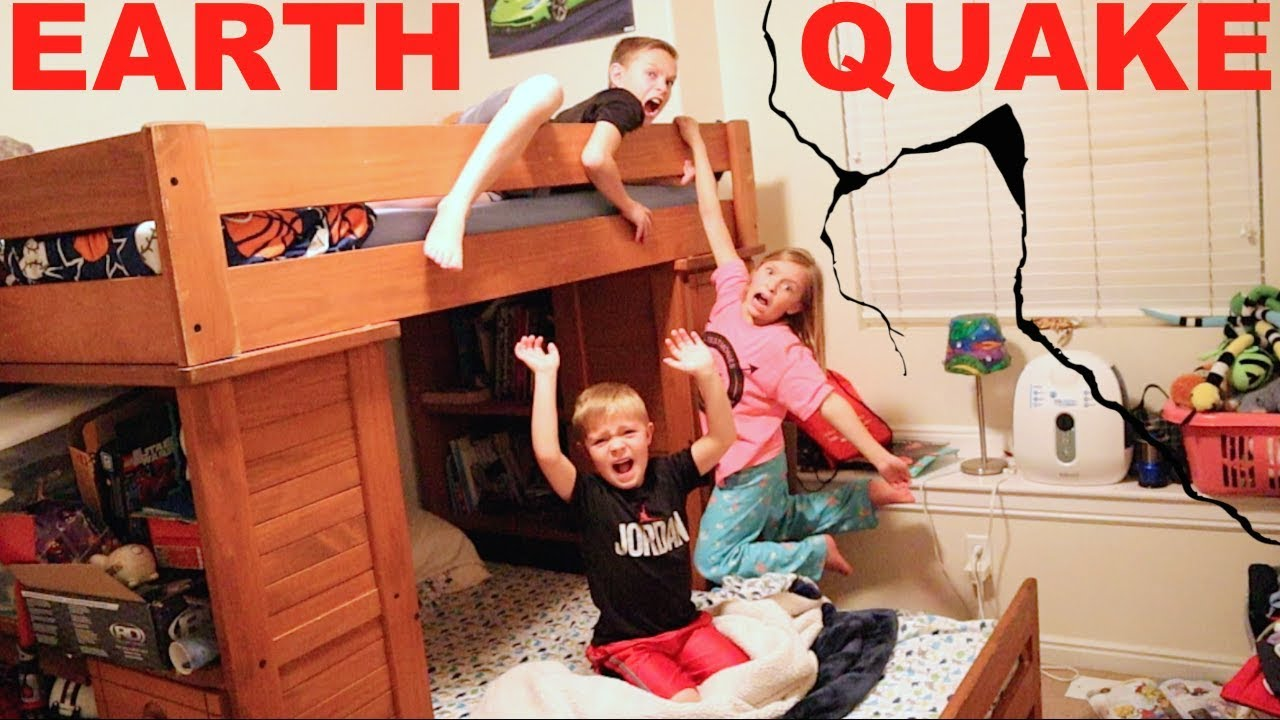 100 EARTHQUAKES Shake Our House!!!