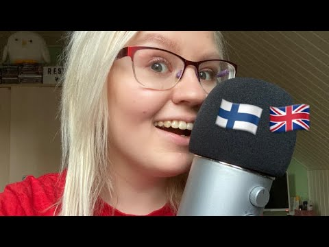 ASMR These Words Are Similar in Finnish and English! 🇫🇮🇬🇧
