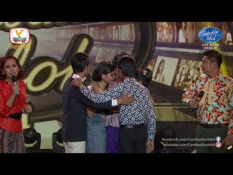Cambodian Idol Season 3 Live Show Week 6 | RESULT