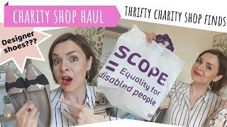 CHARITY SHOP BARGAIN HAUL // THRIFT STORE BUDGET FINDS