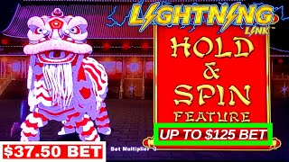 High Limit Action!! Up To $125 A Spin High Limit Slot Play & HANDPAY JACKPOT | HUGE LIVE SLOT PLAY