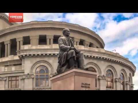 Красота Еревана за 2 минуты... // Visit Armenia, Yerevan 3D // Yerevan Beauty 2 Minutes