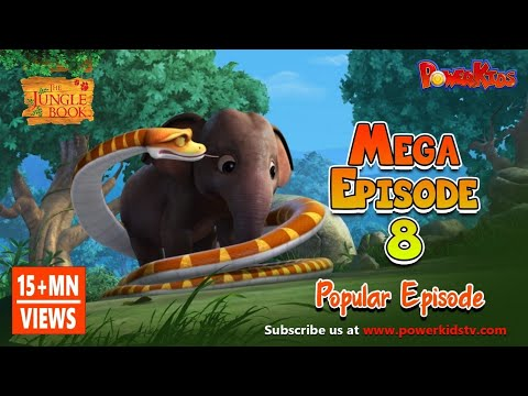 The Jungle Book Cartoon Show Mega Episode 8 | Latest Cartoon Series for Children