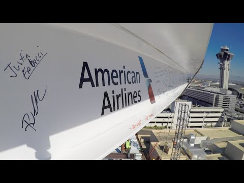 American Airlines tops out LAX redevelopment