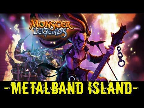 Monster Legends | MetalBand Progressive Island | Metalisha | Keithor | Mini-Monster Analysis